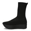 Dámská černá kotníčková obuv vagabond, černá, 719-6050 - 17