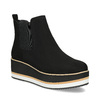 Dámská Chelsea obuv na flatformě bata, černá, 699-6638 - 13