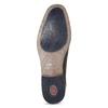 Tmavě hnědé derby polobotky bugatti, hnědá, 826-4058 - 18