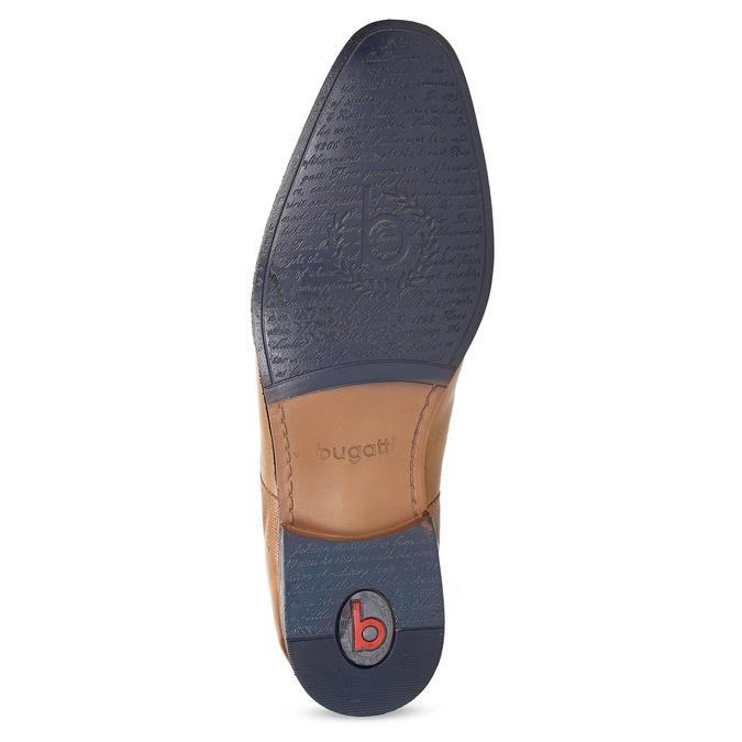 Hnědá pánská kožená Chelsea obuv bugatti, hnědá, 816-3014 - 18