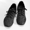 Černé pánské tenisky se žíhaným vzorem le-coq-sportif, černá, 809-6152 - 16