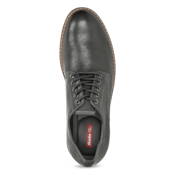 Pánské polobotky tmavě šedé bata-red-label, šedá, 821-2606 - 17