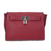Červená kabelka se zámečkem bata-red-label, červená, 961-5902 - 26