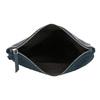 Tmavě modré psaníčko s klopnou a kamínky bata, modrá, 961-9910 - 15