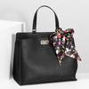 Černá kabelka s mašlí bata-red-label, černá, 961-6896 - 17