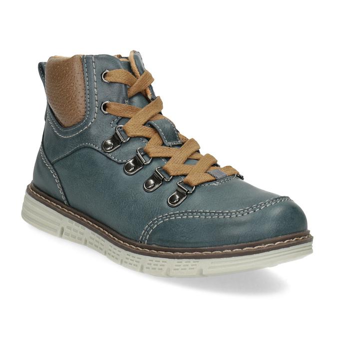 Modrá dětská kotníčková obuv mini-b, modrá, 311-9614 - 13