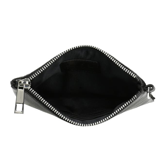 Kožená kapsička s kožešinkou bata, černá, 944-6227 - 15