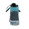 Modrá dětská kožená kotníčková obuv mini-b, modrá, 296-9602 - 15