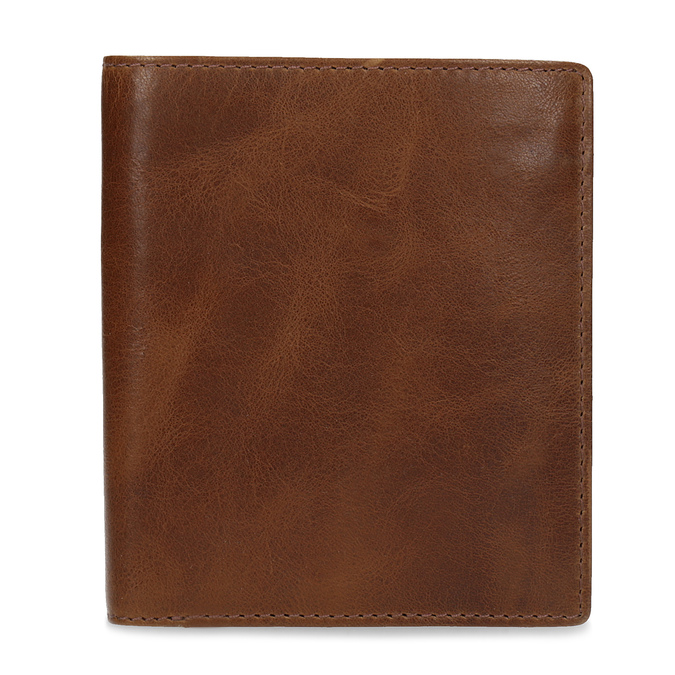 Hnědá kožená pánská peněženka bata, hnědá, 944-3217 - 26