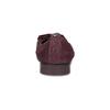 Dámské kožené baleríny vínové flexible, červená, 526-5663 - 15