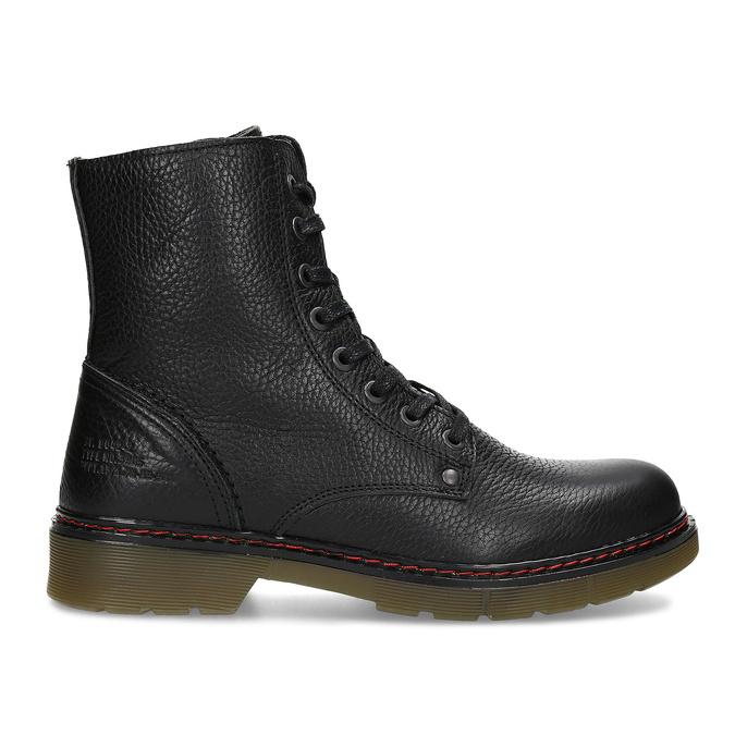 Černá dámská kožená obuv v Chelsea stylu bata, černá, 596-6732 - 19