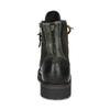 Zimní vysoká kožená kotníčková obuv bata, šedá, 896-2737 - 15