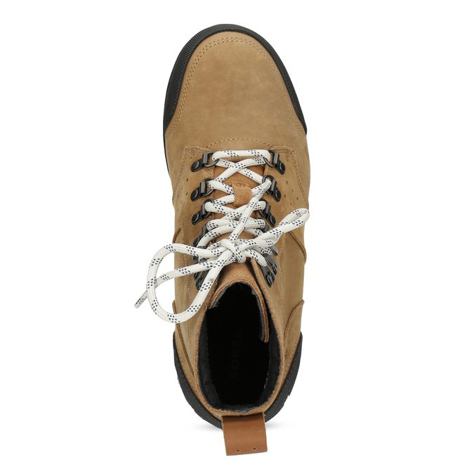 Pánská kožená kotníková obuv sorel, hnědá, 826-3025 - 17