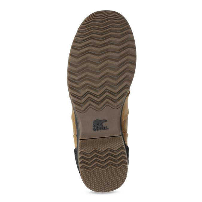 Pánská kožená kotníková obuv sorel, hnědá, 826-3025 - 18
