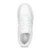 Bílé dámské tenisky s prošitím nike, bílá, 501-1130 - 17