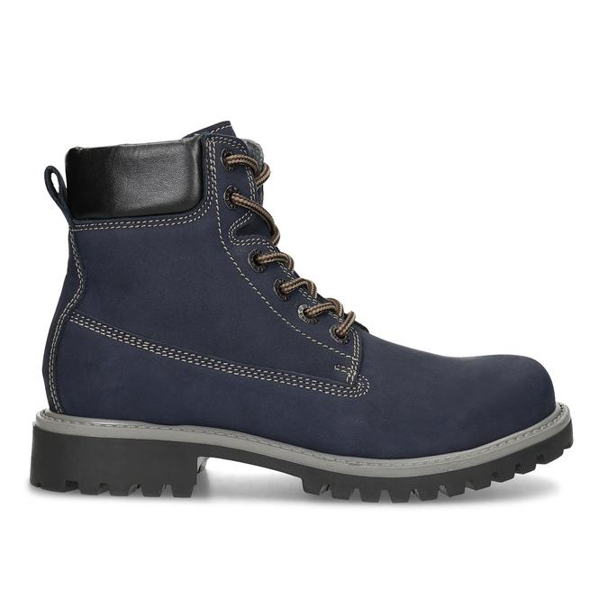 Tmavě modrá dámská kotníčková obuv weinbrenner, modrá, 596-2728 - 19