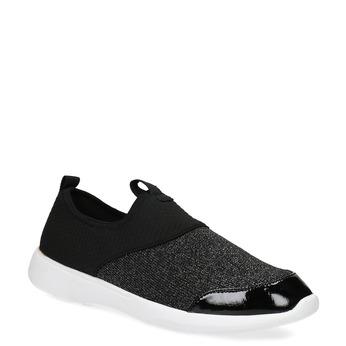Dámské černé ležérní tenisky bata-red-label, černá, 549-6612 - 13