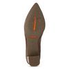 Hnědé kožené lodičky s kovovou přezkou rockport, hnědá, 716-3085 - 18