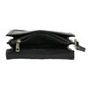 Černá pánská kožená taška do ruky bata, černá, 964-6315 - 15