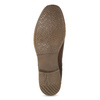 Kožená dámská obuv v Chelsea stylu bata, hnědá, 594-4682 - 18