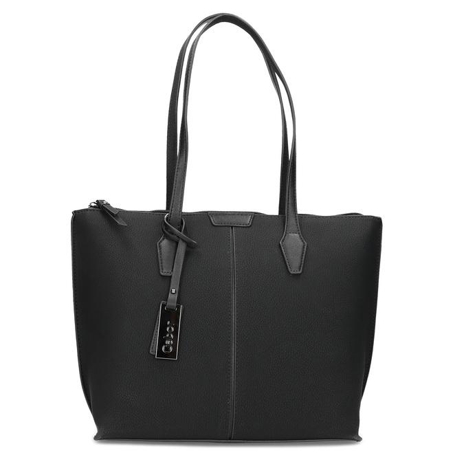 Černá kabelka s přívěskem gabor-bags, černá, 961-6044 - 26