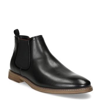 Černá pánská Chelsea obuv bata-red-label, černá, 821-6611 - 13