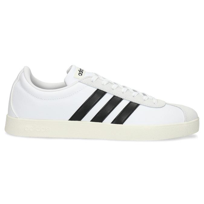Bílé pánské ležérní tenisky adidas, bílá, 801-1146 - 19