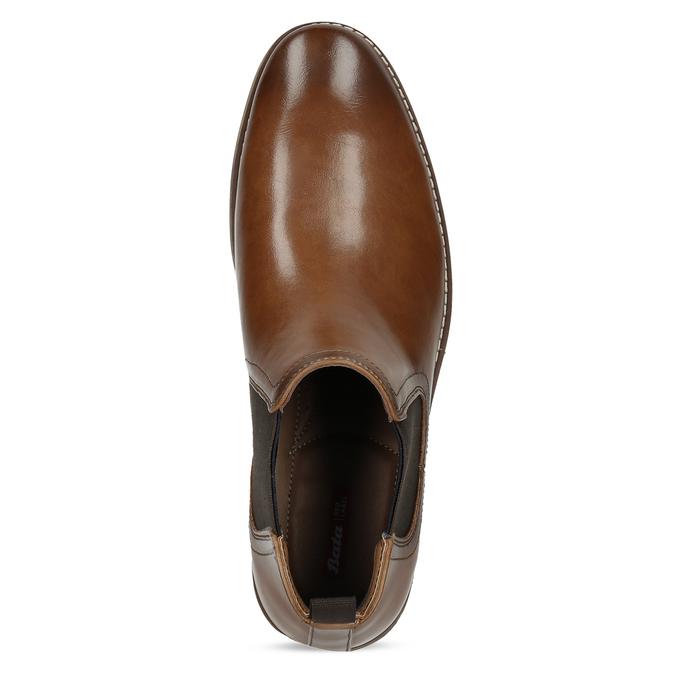 Pánská hnědá Chelsea obuv bata-red-label, hnědá, 821-3611 - 17