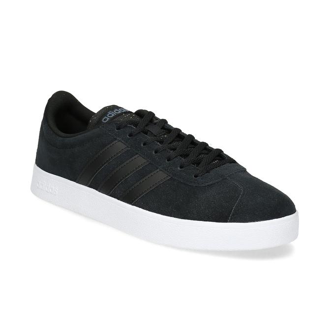 8ac226d10 Černé pánské kožené tenisky adidas, černá, 803-6119 - 13