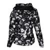 Černo-bílá dámská prošívaná bunda bata, černá, 979-6311 - 26