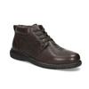 Kožená pánská kotníčková obuv comfit, hnědá, 896-4701 - 13