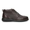 Kožená pánská kotníčková obuv comfit, hnědá, 896-4701 - 19