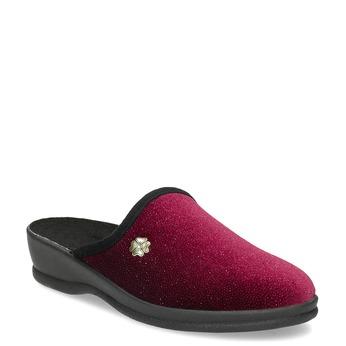 Dámské domácí nazouváky červené bata, červená, 579-5631 - 13