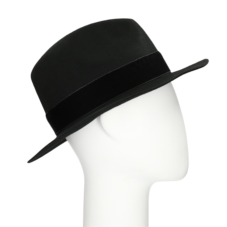 Baťa Černý klobouk se sametovou stuhou - Čepice a klobouky  efbc379472