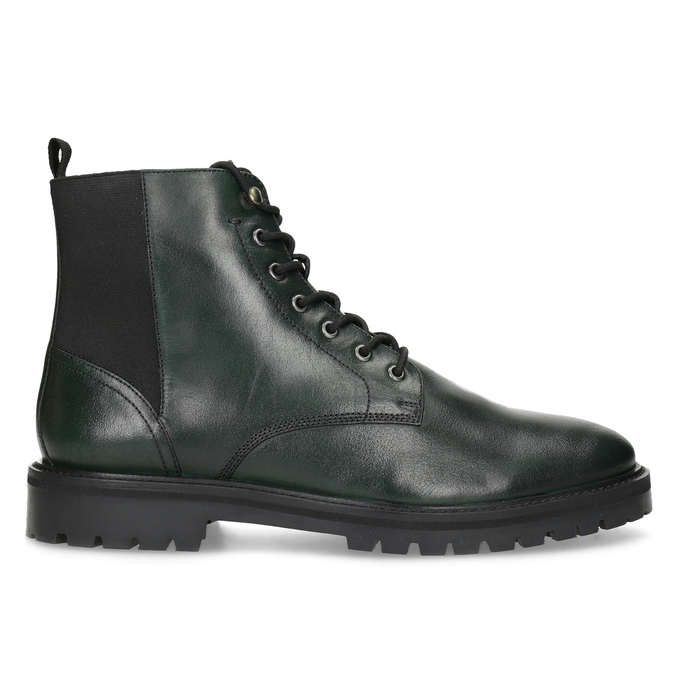 Pánská kotníčková obuv tmavě zelená bata, zelená, 896-7722 - 19