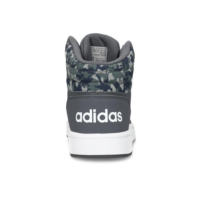 Šedé kotníčkové dětské tenisky adidas, šedá, 401-2395 - 15
