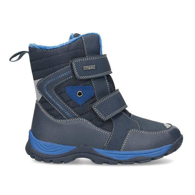 Dětská zimní obuv na suché zipy mini-b, modrá, 491-9653 - 19