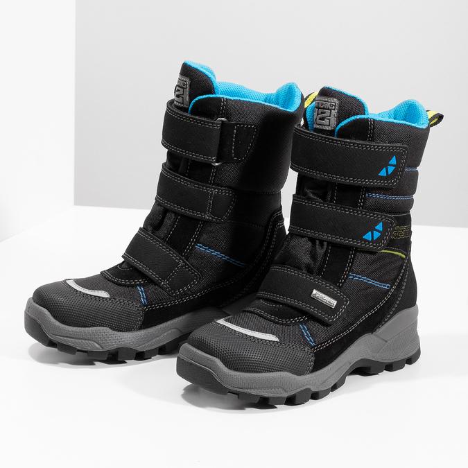 Chlapecké sněhule vysoké mini-b, černá, 299-6615 - 16