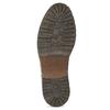 Hnědá pánská kožená zimní obuv bata, hnědá, 896-3732 - 18