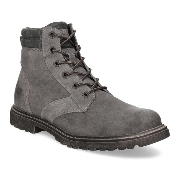 08b51e7cc9 Weinbrenner Pánská šedá kožená kotníčková obuv - Neformální