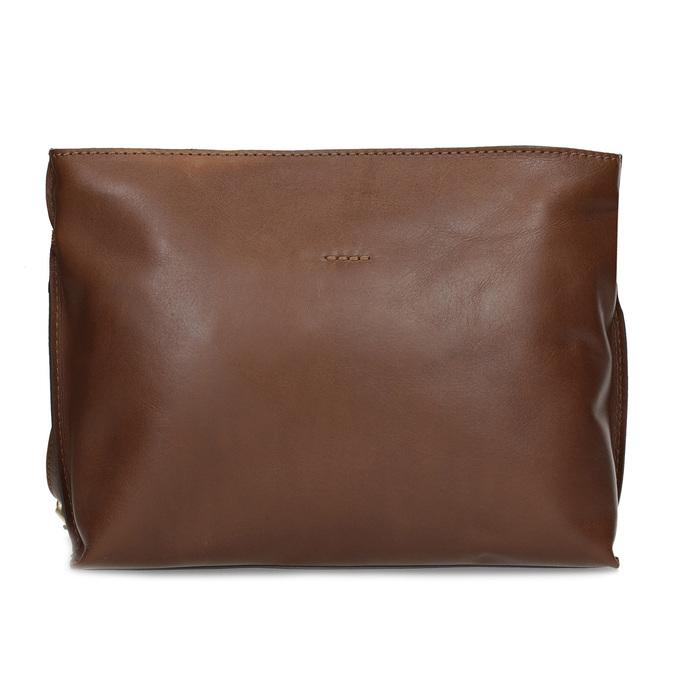 Kožená hnědá crossbody kabelka bata, hnědá, 964-3605 - 26