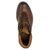 Kožená pánská kotníčková zimní obuv bata, hnědá, 896-3730 - 17