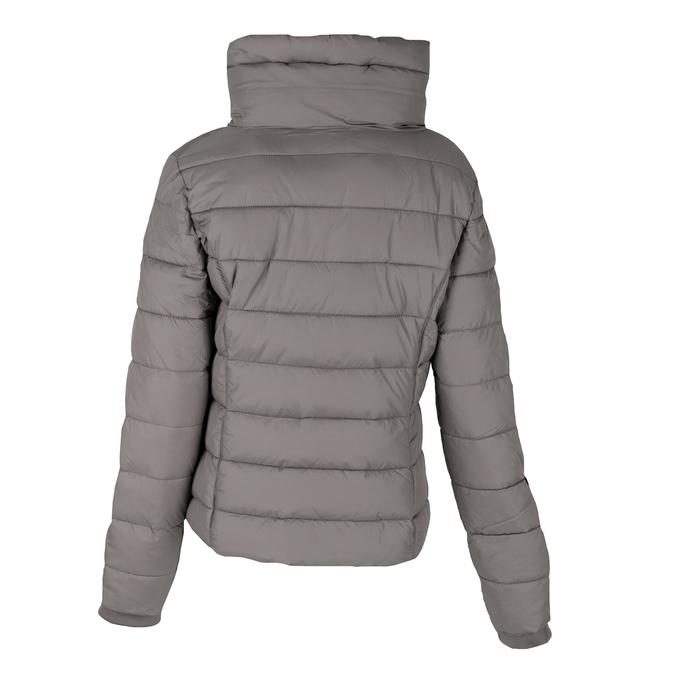 Dámská prošívaná bunda s límcem šedá bata, béžová, 979-8344 - 26