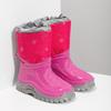 Růžové sněhule s vločkami mini-b, růžová, 292-5301 - 26