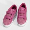 Růžové dětské tenisky na suché zipy puma, růžová, 301-5224 - 16