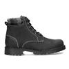 Černá dámská kožená kotníčková obuv weinbrenner, černá, 596-6729 - 19