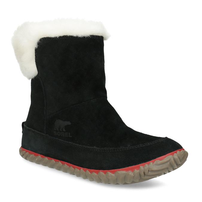 Sorel Kožená dámská zimní obuv se zateplením - Sněhule  455eac68d7