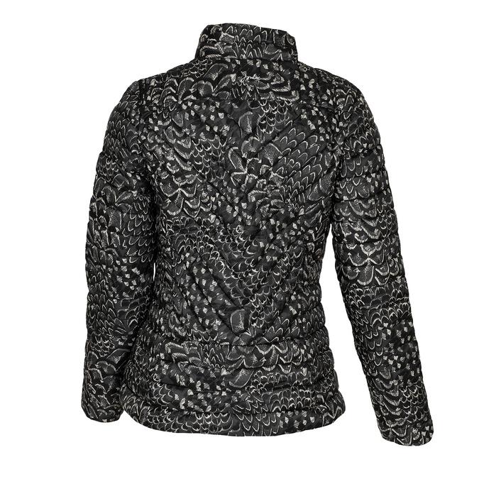 Dámská prošívaná bunda se vzorem joules, černá, 979-6037 - 26