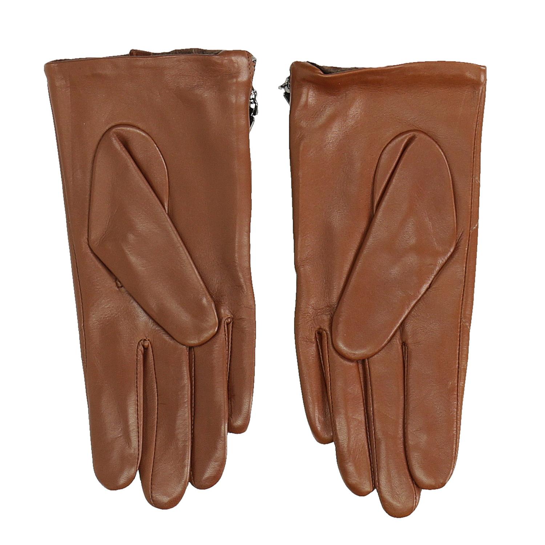 1866614d59 Bata Dámské kožené rukavičky prošívané hnědé - Rukavice