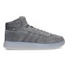 Pánské kotníčkové tenisky kožené šedé adidas, šedá, 803-2118 - 19